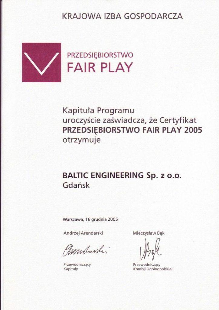 Fair Play 2005