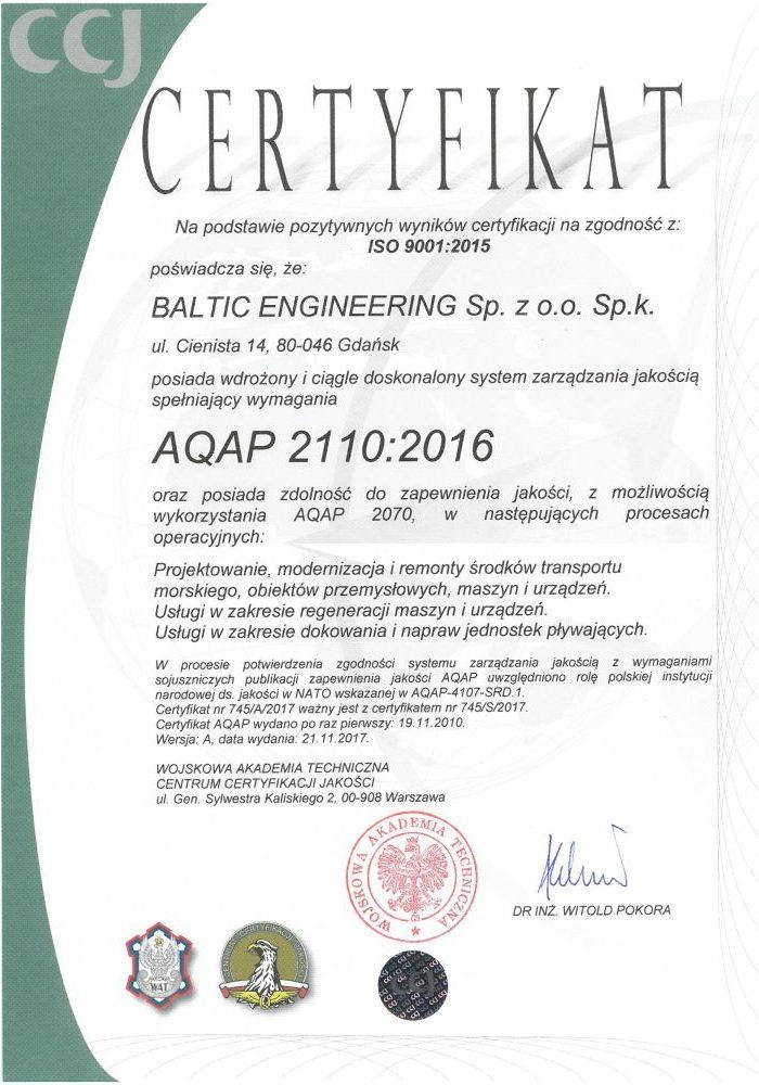 CERTYFIKAT-AQAP-2110-2016